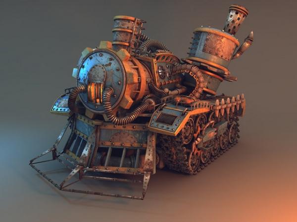 Паровой танк