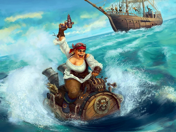 Пиратка )