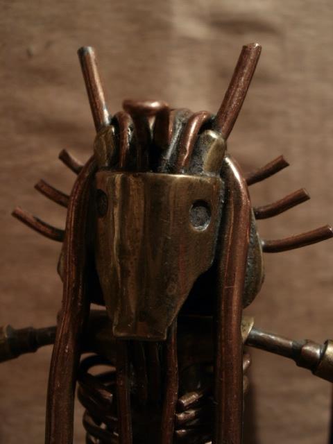 Такая себе мумия.Медь, латунь, сталь.