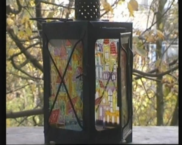 Лампа (а-ля KOZO) и пара свечных фонариков (Фото 7)