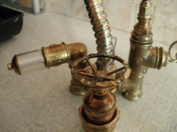 Лампа (а-ля KOZO) и пара свечных фонариков (Фото 5)