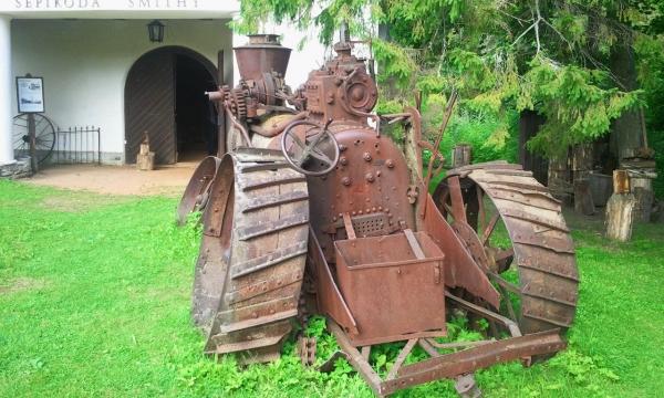 Паровой трактор (Фото 4)