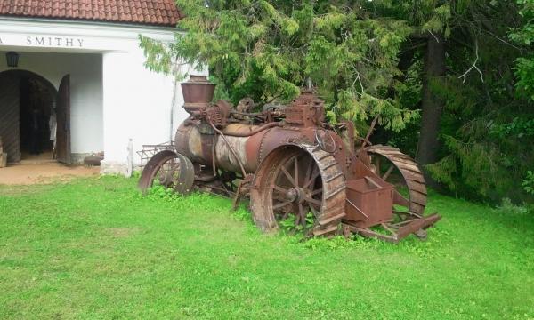 Паровой трактор (Фото 3)