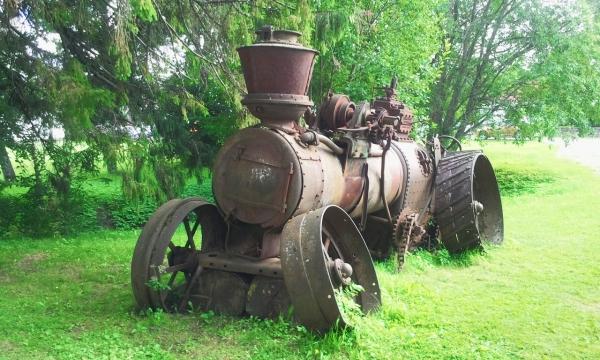 Паровой трактор (Фото 2)