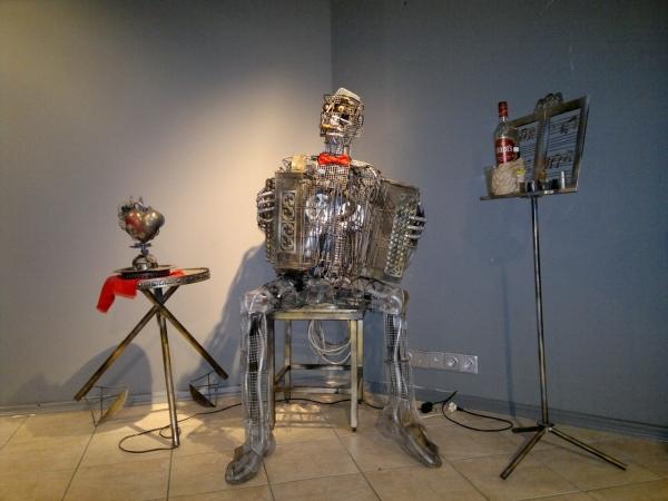 Мастерские Александра Гецой.Новая Работа(Попирающая Время). (Фото 18)