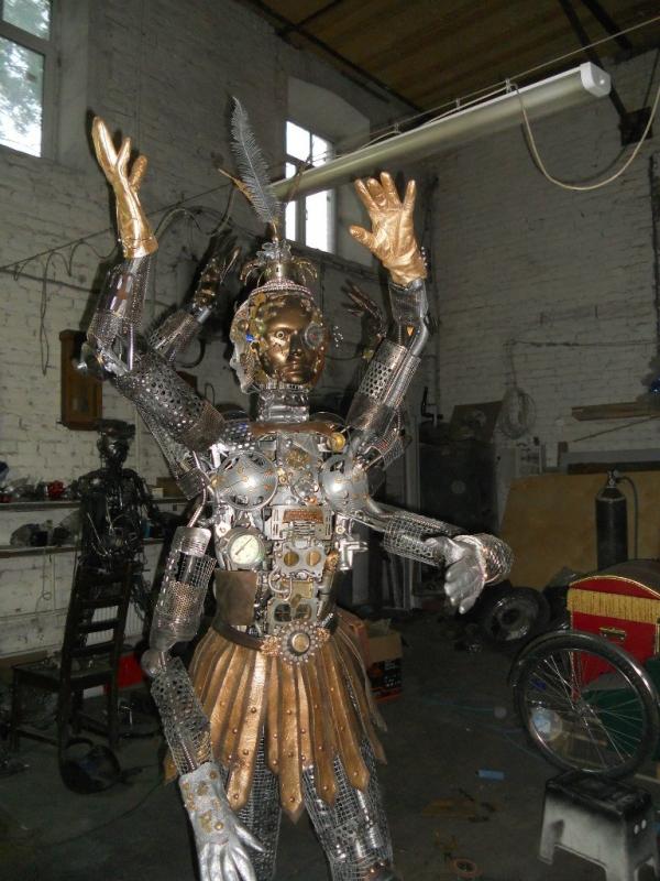Мастерские Александра Гецой.Новая Работа(Попирающая Время). (Фото 22)