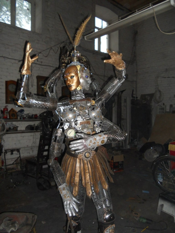 Мастерские Александра Гецой.Новая Работа(Попирающая Время). (Фото 27)