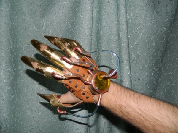 Механ перчатка (Фото 2)