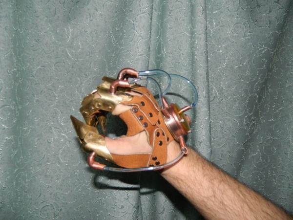 Механ перчатка (Фото 5)