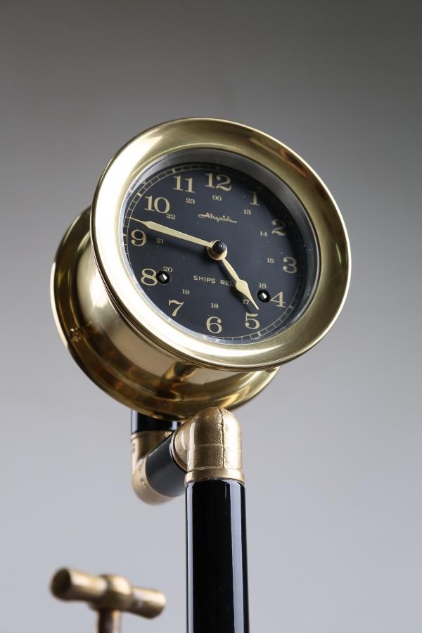 Водопроводно - тазиковая вешалка с часами (Примусная головка приблудилась случайно) (Фото 3)