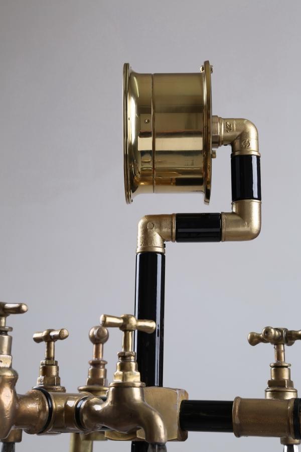 Водопроводно - тазиковая вешалка с часами (Примусная головка приблудилась случайно) (Фото 5)