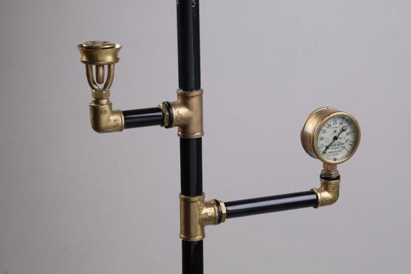 Водопроводно - тазиковая вешалка с часами (Примусная головка приблудилась случайно) (Фото 6)