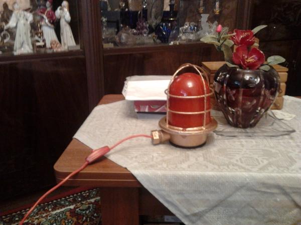 Лампа 1952 года выпуска