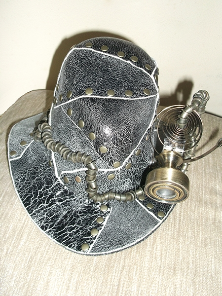 """Сумочка """"Пепелац"""" и шляпка с перископом. (Фото 5)"""