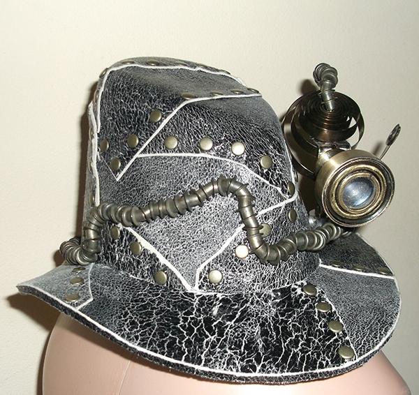 """Сумочка """"Пепелац"""" и шляпка с перископом. (Фото 6)"""