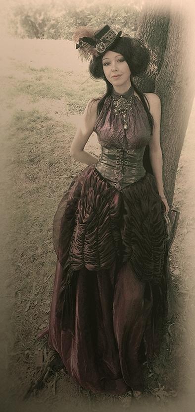 Платьешки от меня - викторианский стимпанк. (Фото 3)