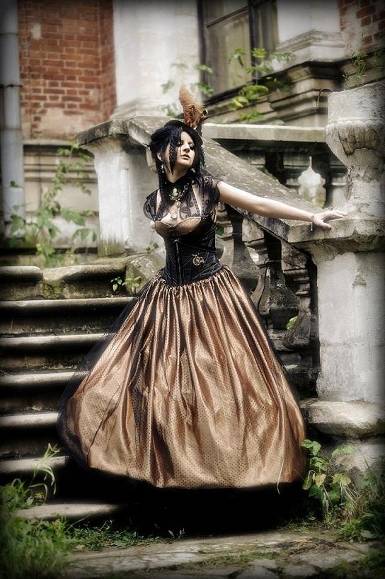 Платьешки от меня - викторианский стимпанк. (Фото 2)