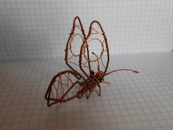 Бабочка из проволоки (Фото 4)