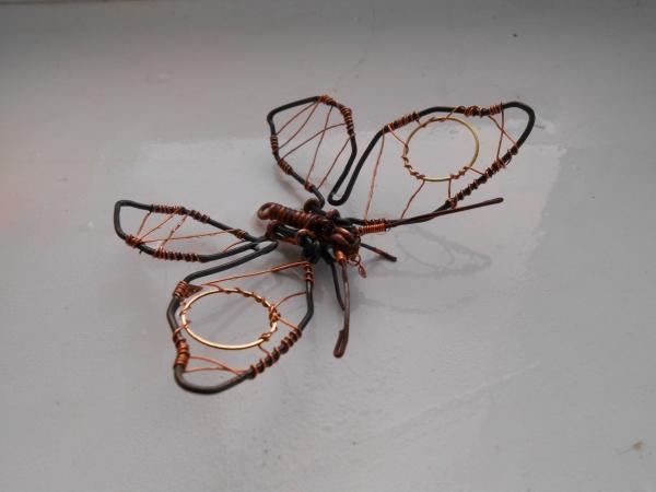 Бабочка из проволоки (Фото 7)