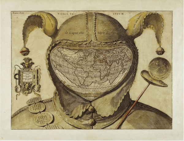 Настольный механический календарь Безумный Год (по мотивам географической карты Шутовского Колпака)