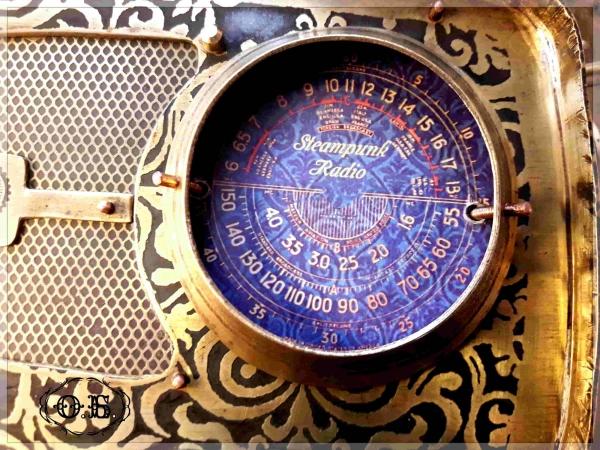 Стимпанк Радио (декоративное)