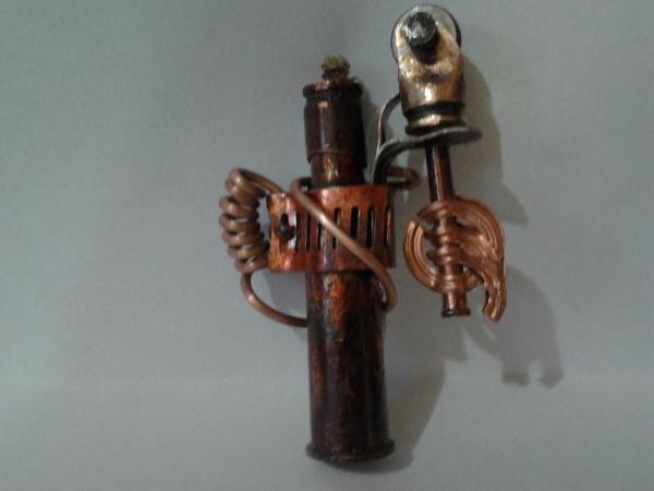 зажигалка, моя первая работа (Фото 2)