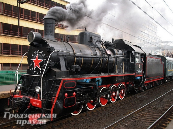 В городе Лида реконструируют уникальный экспонат – угольный паровоз. (Фото 2)