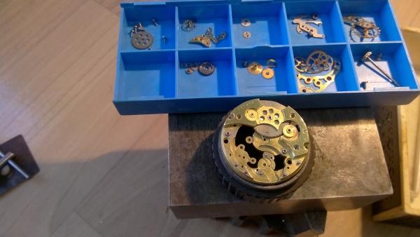 Модернизация моей ранней работы Часы№2 по просьбе заказчика.