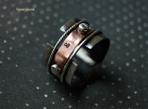 Кольцо из серебра и меди (Фото 2)