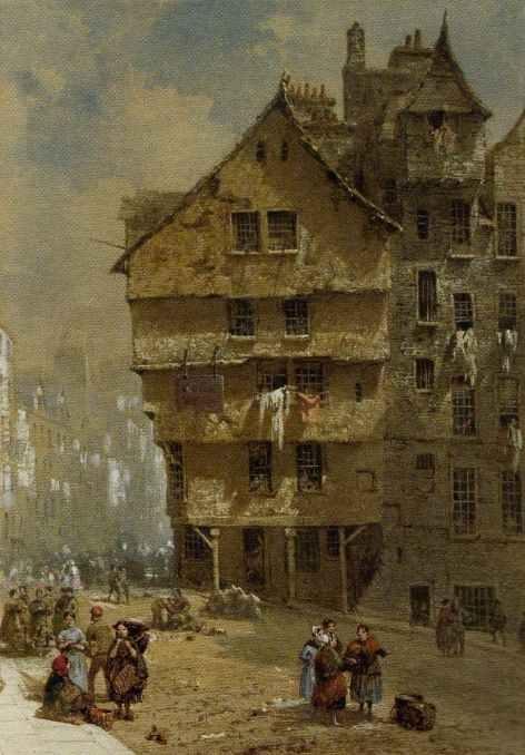 Архитектура старой Англии в акварели. (Фото 19)