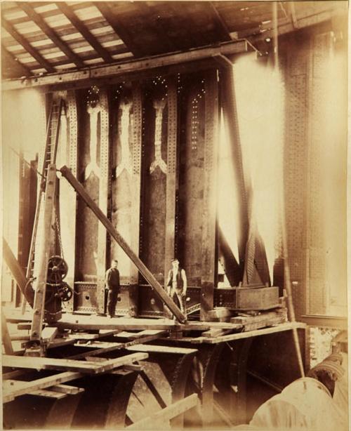 Строительство Тауэрского моста. (Фото 7)