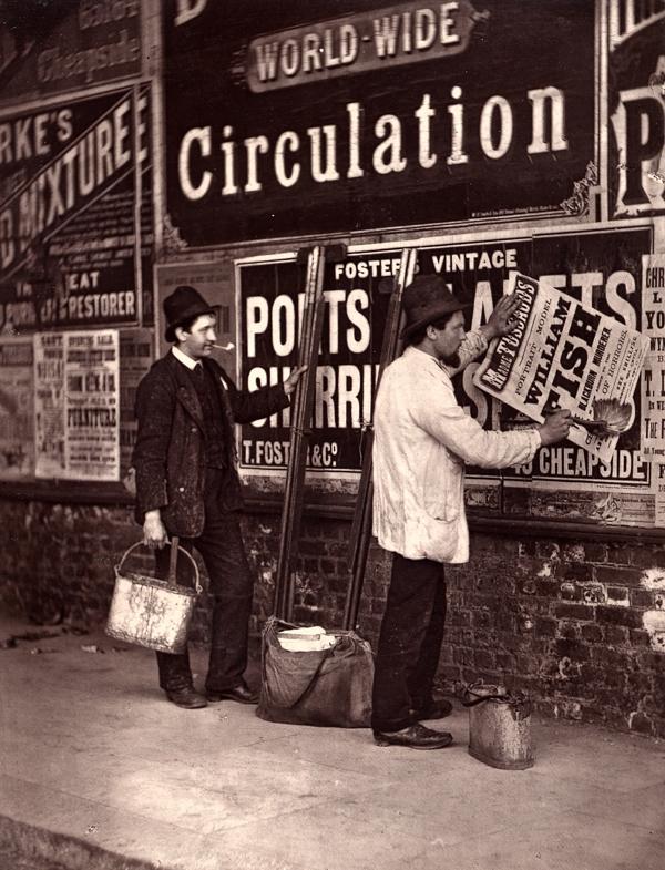 """Лондон 1876-го. """"Уличная жизнь Лондона"""""""