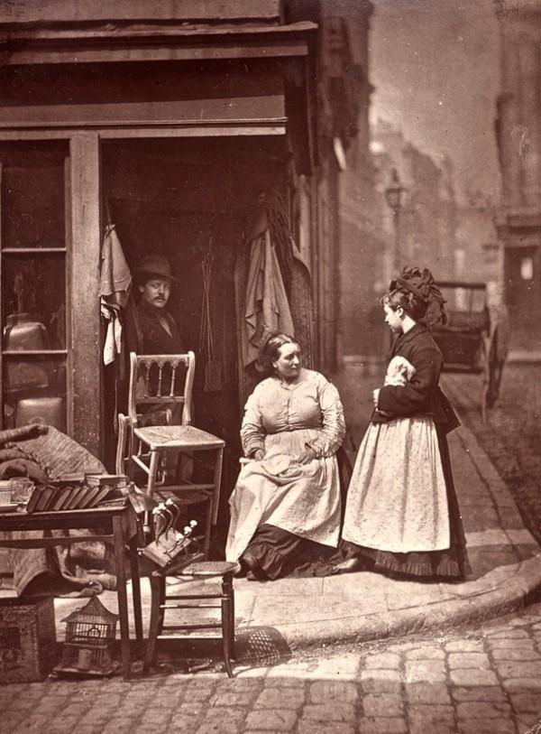 """Лондон 1876-го. """"Уличная жизнь Лондона"""" (Фото 21)"""