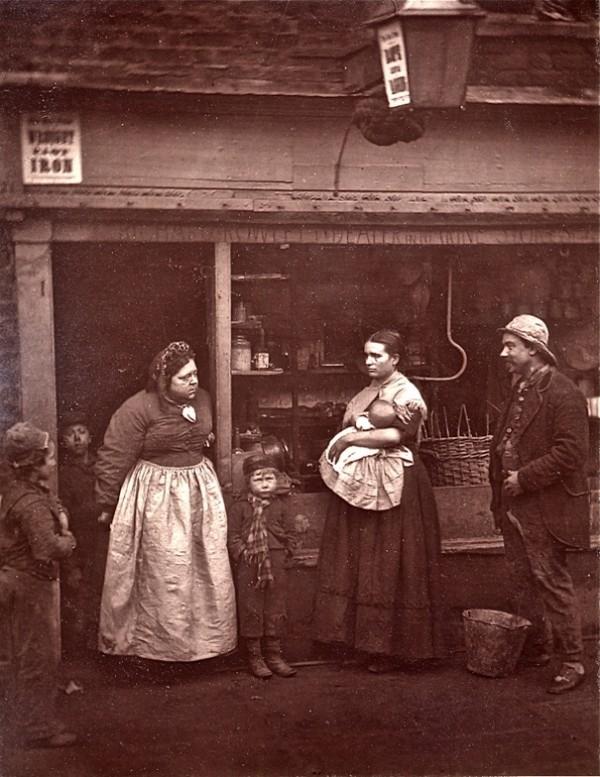 """Лондон 1876-го. """"Уличная жизнь Лондона"""" (Фото 9)"""