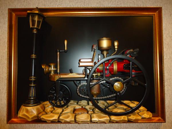 Benz Patent- Motorvagen.