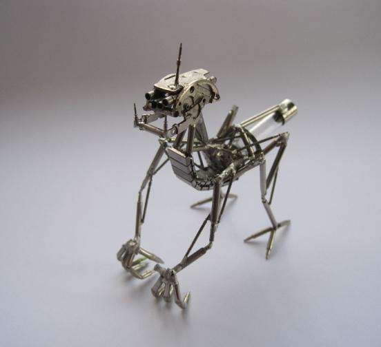 Механические насекомые от Джастина Гершенсон-Гейтса (Фото 16)