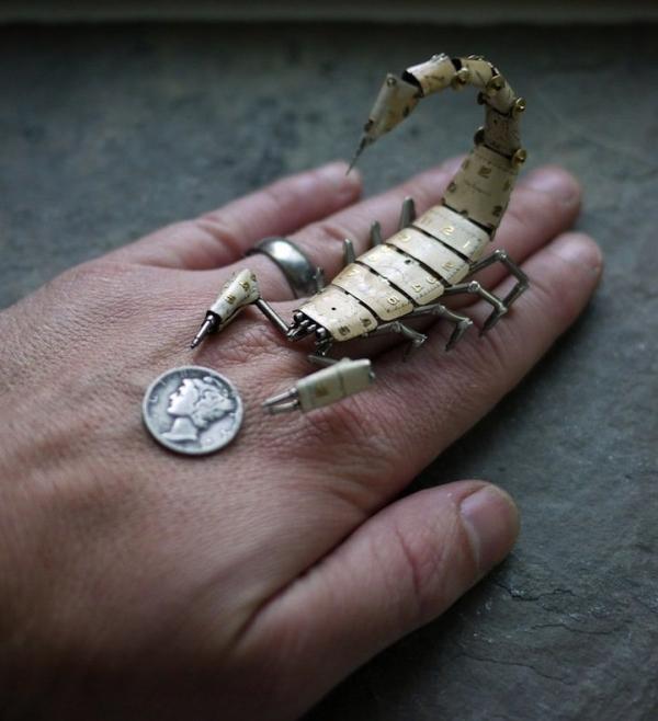 Механические насекомые от Джастина Гершенсон-Гейтса (Фото 11)
