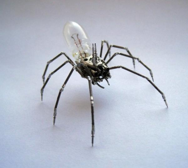 Механические насекомые от Джастина Гершенсон-Гейтса (Фото 18)