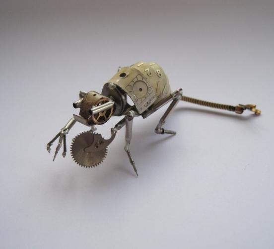 Механические насекомые от Джастина Гершенсон-Гейтса (Фото 17)