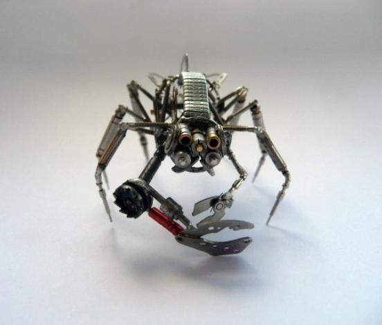 Механические насекомые от Джастина Гершенсон-Гейтса (Фото 21)