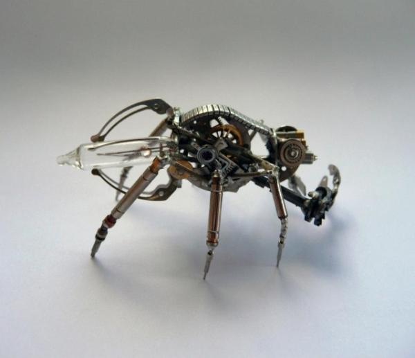 Механические насекомые от Джастина Гершенсон-Гейтса (Фото 24)
