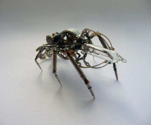 Механические насекомые от Джастина Гершенсон-Гейтса (Фото 23)
