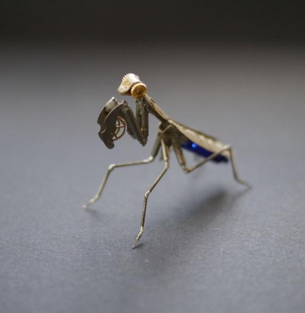 Механические насекомые от Джастина Гершенсон-Гейтса (Фото 9)