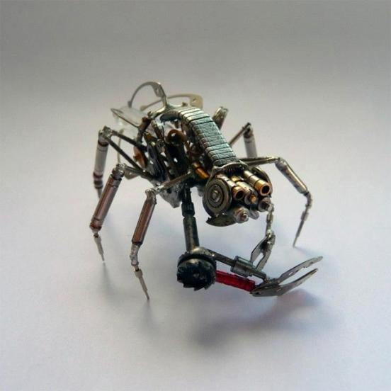 Механические насекомые от Джастина Гершенсон-Гейтса (Фото 22)