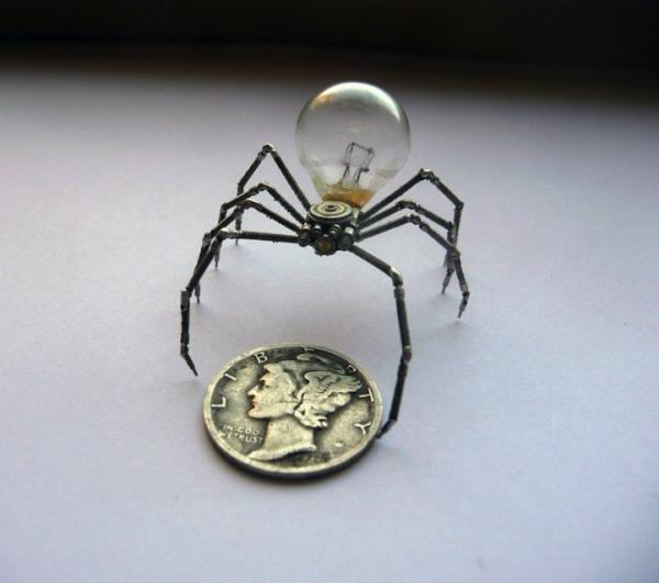 Механические насекомые от Джастина Гершенсон-Гейтса (Фото 14)
