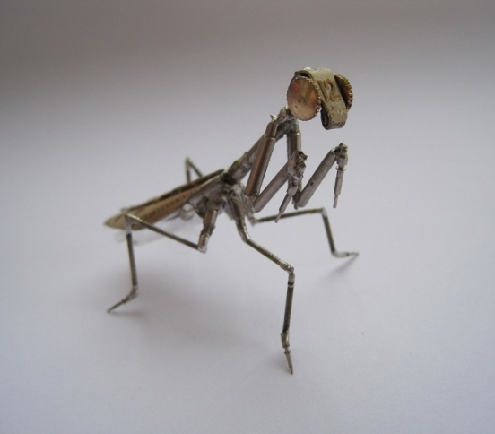 Механические насекомые от Джастина Гершенсон-Гейтса (Фото 7)
