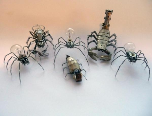 Механические насекомые от Джастина Гершенсон-Гейтса
