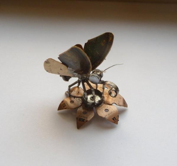 Механические насекомые от Джастина Гершенсон-Гейтса (Фото 6)