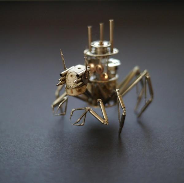Механические насекомые от Джастина Гершенсон-Гейтса (Фото 19)