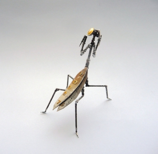 Механические насекомые от Джастина Гершенсон-Гейтса (Фото 8)